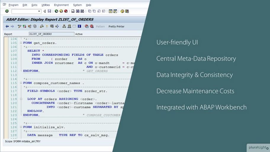 Understanding ABAP Dictionary